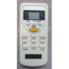 Пульт для кондиционера Rix моделей I/O-W09F4C I/O-W07F4C ZH/Jt-01 ZH/jt-03 и др. Арт:dp00057
