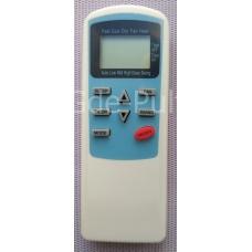 Пульт для кондиционера Kitano моделей tac-07chsa/bq(e) tac-09chsa/bq(e) tac-12chsa/bq(e) tac-18chsa/bq(e) tac-24chsa/bq(e) и др. Арт:dp00091